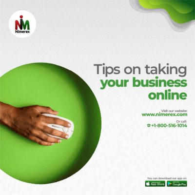 tips on taking your business online