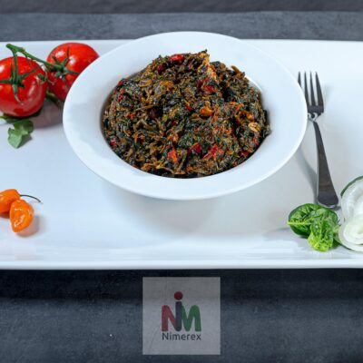 Vegetable Soup (Efo-Riro-Half Pan / Family Size)