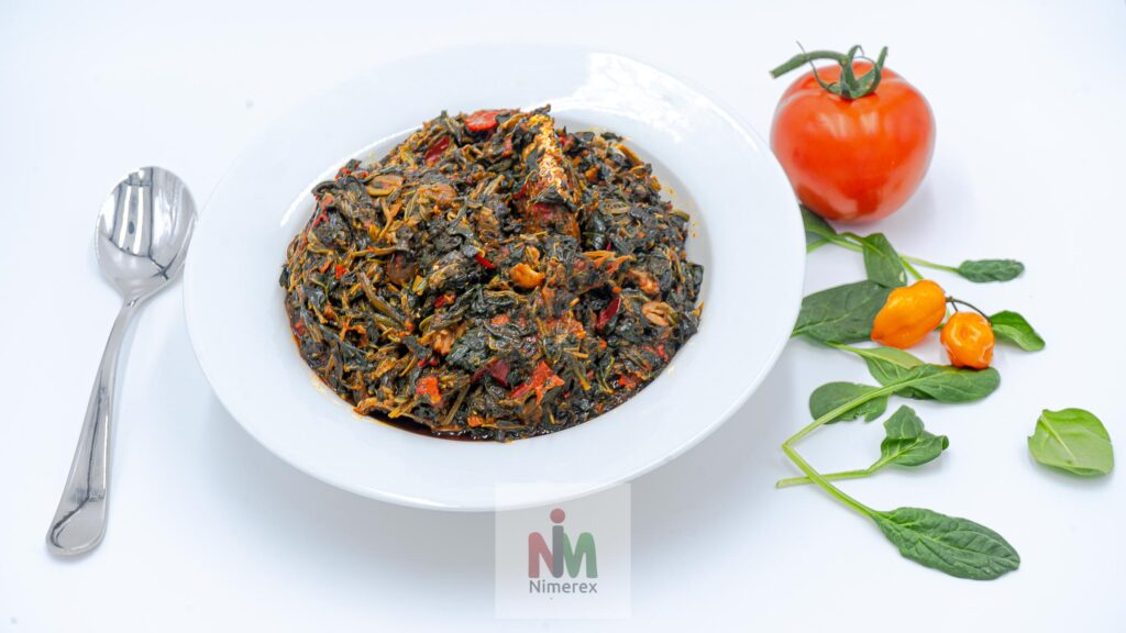 Vegetable Soup (Efo-Riro-Half Pan / Family Size)
